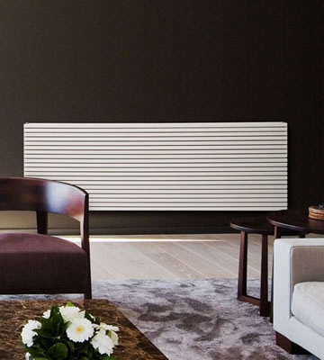MHS Carre Horizontal White Radiators