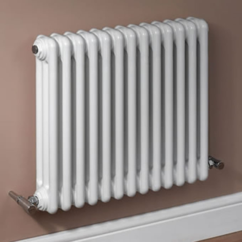 MHS Multisec Bespoke 3 Column 600mm High Radiators in Special Colours and Finishes