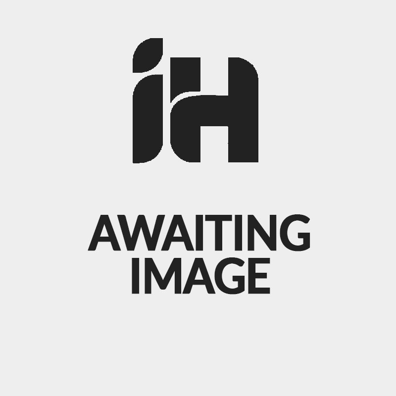 MHS Radius Valve Set with White TRV Head and Lock Shield