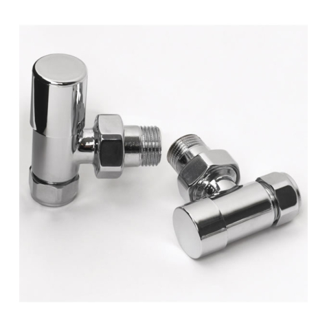Rads 2 Rails Studio Manual Chrome Valve Set