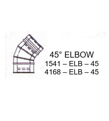 Mistral 45 Degree Elbow 15-41kW Models