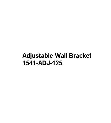 Mistral Adjustable Wall Bracket for 15-41kW Models