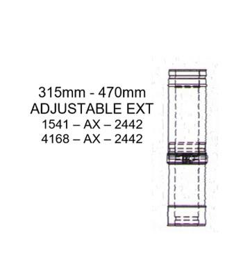 Mistral 240-440mm Adjustable Extension for 15-41kW Models