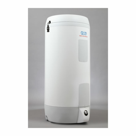 Oso Super Xpress SX Direct Unvented Cylinders