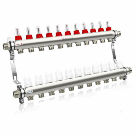 Prowarm 11 Circuit Manifold