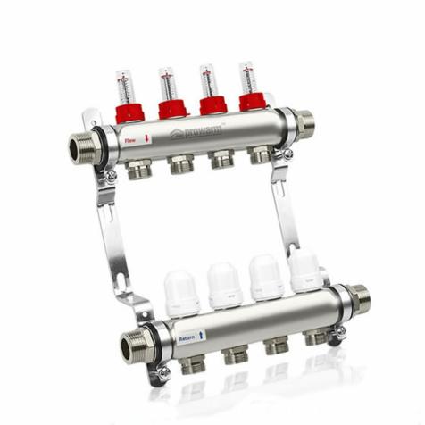 Prowarm 4 Circuit Manifold