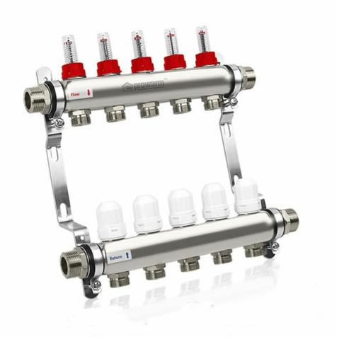 Prowarm 5 Circuit Manifold