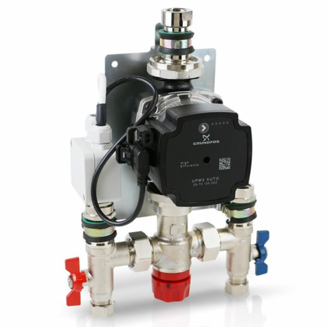 Prowarm Single Room Mixer Pack With A Rate Pump