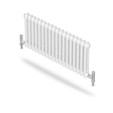 Purmo Forza Horizontal 2 Column White Radiators
