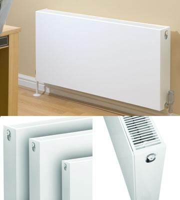 Quinn Compla Horizontal Single Panel 400mm High Radiators