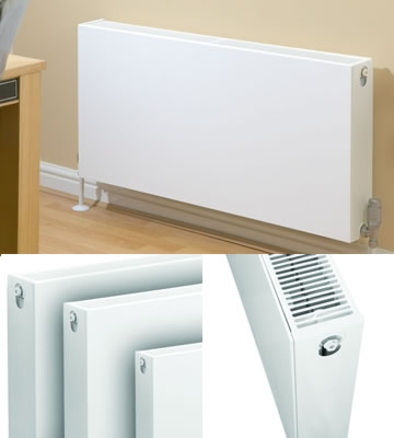 Quinn Compla Horizontal Double Panel 500mm High Radiators