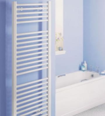 Quinn Crystal White Straight Towel Rails