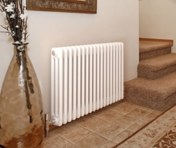 Quinn Forza Horizontal 4 Column 600mm High Radiators in Colours