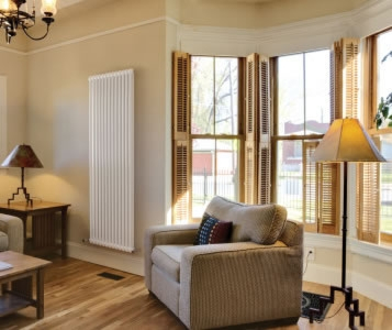 Quinn Forza Vertical 3 Column 2000mm High Radiators in Colours