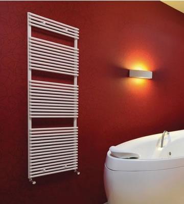 Quinn Topaz White Towel Rails