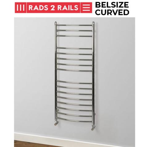Rads 2 Rails Belsize Polished Stainless Steel Towel Rails