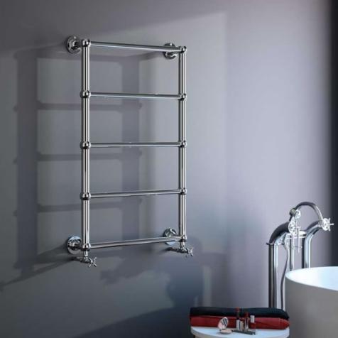 Radox Edwardian Chrome Towel Rails