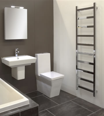 Radox Eros Polished Stainless Steel Towel Rails