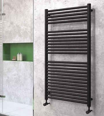 Radox Hercules Black Pearl Towel Rails