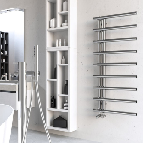 Radox Iris Stainless Steel Towel Rails