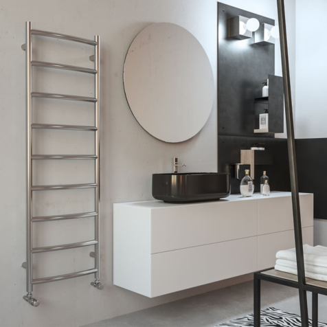 Radox Lacuna Polished Stainless Steel Towel Rails