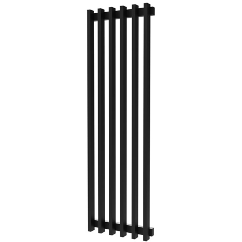 Radox Saber Matt Black Vertical Radiator