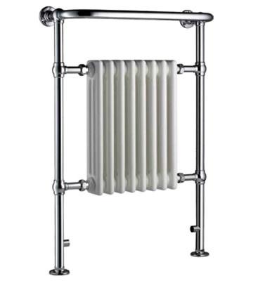 Radox Taurus Columbine Chrome Traditional Towel Radiator