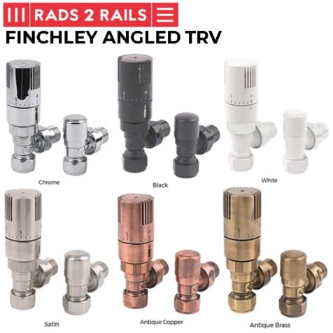 Rads 2 Rails Finchley Angled TRV Set