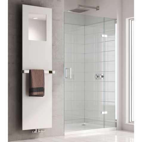 Reina Albi Towel Radiator with Mirror and Optional Towel Bar