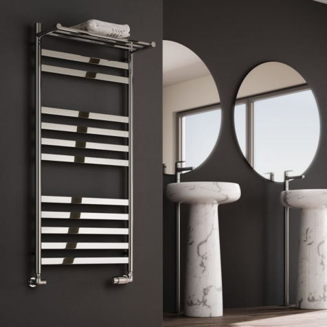 Reina Alento Polished Stainless Steel Towel Rails