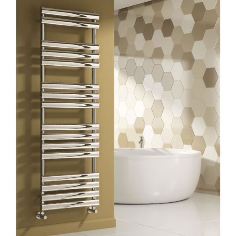 Reina Arbori Anthracite Towel Rail