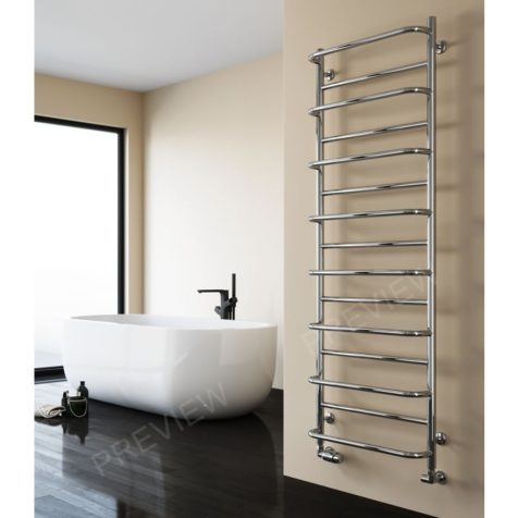 Reina Belbo Polished Stainless Steel Towel Rails