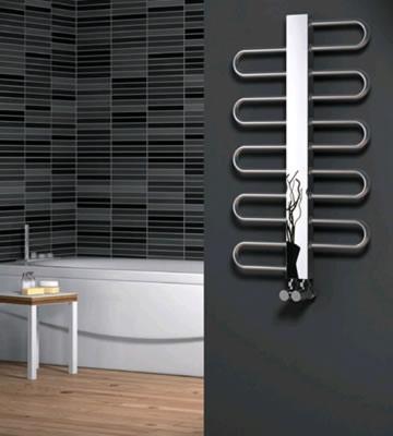 Reina Dynamic Satin Stainless Steel Towel Rails
