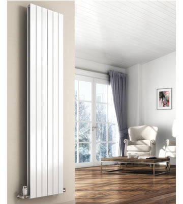 Reina Flat Vertical Radiators in RAL Colour Finishes