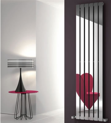 Reina Lavian Polished Stainless Steel Radiators