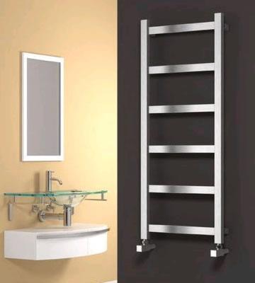 Reina Mina Satin Stainless Steel Towel Rails