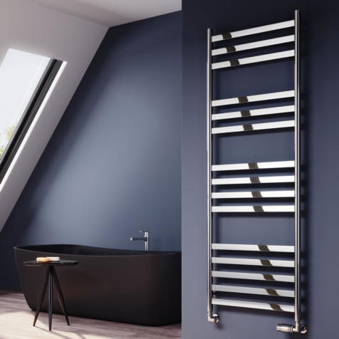 Reina Misa Polished Stainless Steel Towel Rails