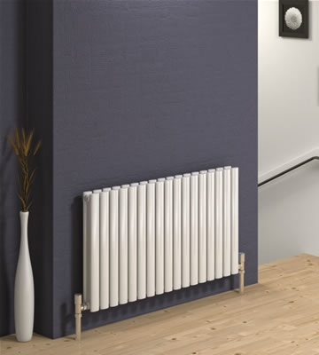 Reina Neva Horizontal Single Radiators in RAL Colour Finishes