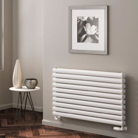 Reina Nevah Horizontal Radiators in RAL Colour Finishes