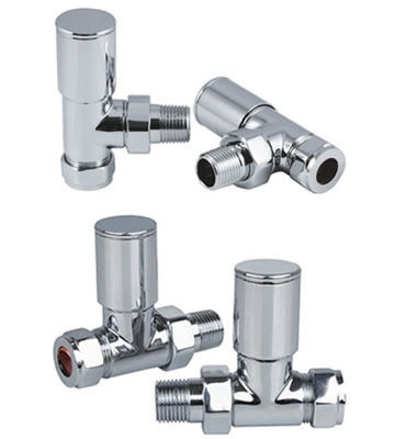 Reina Portland Chrome Radiator Valves