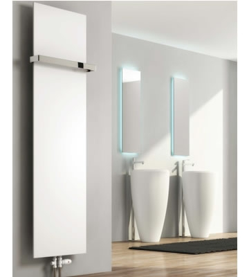 Reina Slimline Vertical Radiators in RAL Colour Finishes
