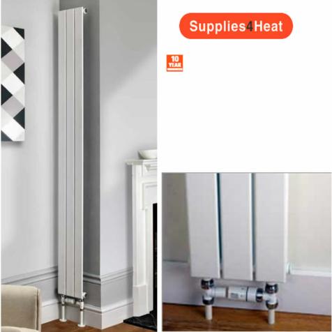 Supplies4Heat Beaufort Slim Vertical Radiators