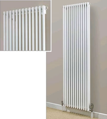 Supplies4Heat Chaucer Vertical Double Radiators in RAL Colours
