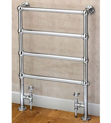 Supplies4Heat Cleves Floor Standing Traditional Towel Rail