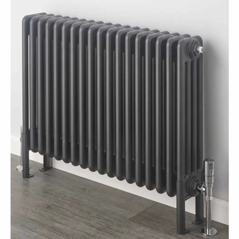 Supplies4Heat Cornel Graphex Horizontal 3 Column Radiators