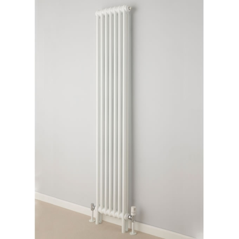 Supplies4Heat Cornel Vertical 2 Column Radiators in RAL Colours
