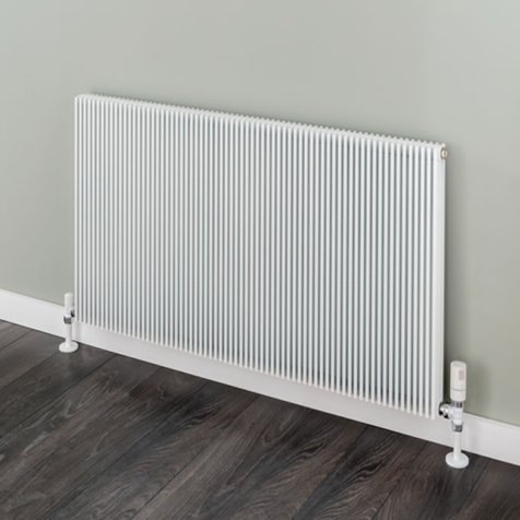 Supplies4Heat Hadlow Horizontal White Radiators