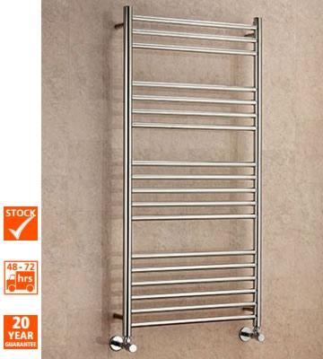 Supplies4Heat Lanark Straight Stainless Steel Towel Rails
