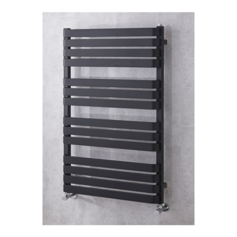 Supplies4Heat Milton Towel Rails in RAL Colours and Special Finishes