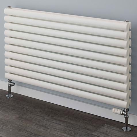Supplies4Heat Tallis Horizontal White Radiators